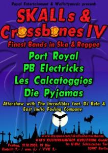 Flyer SKAlls & Crossbones IV