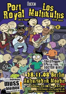 Flyer Kulturfabrik Moabit
