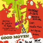 Flyer Good Moves Festival