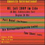 Flyer für's Lido